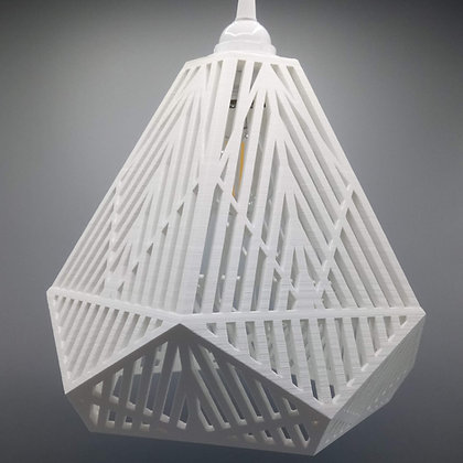 Lampe Dodécaèdre Ajouré - Grand modèle