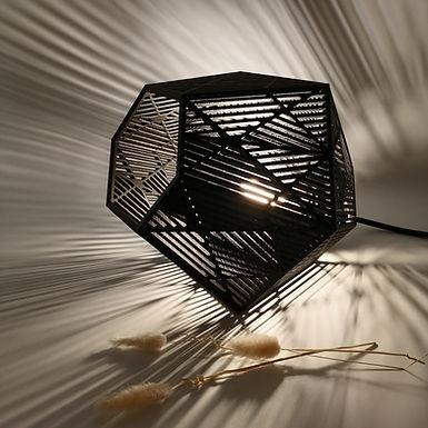 Lampe Hexagones Ajourés
