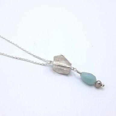 collier Physalis et perles