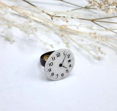 Bague Mechanical cadran de montre