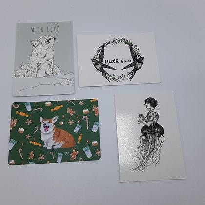 Carte postale + Enveloppe