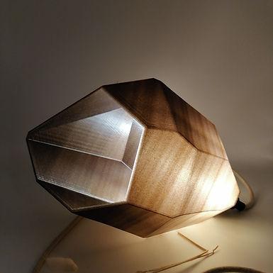 Lampe Facettes Hepta - Modèle intermédiaire