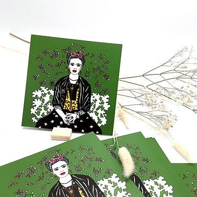 Carte postale Frida