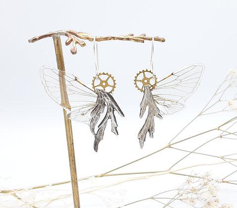 Boucles d'oreilles Brocéliande cigales