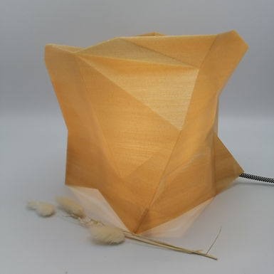 Lampe Facettes Cube n°1 - Petit modèle