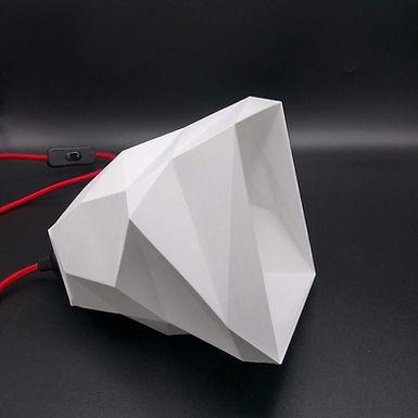 Lampe Facettes n°3 - Petit modèle