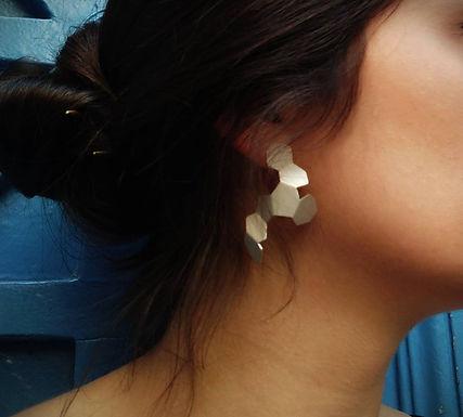 Boucle d'oreilles Molécule XL