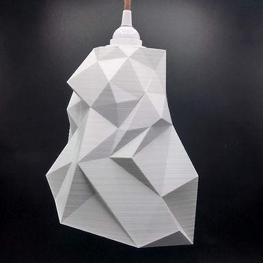 Lampe Facettes n°1 - Modèle intermédiaire