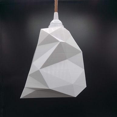 Lampe Facettes n°3 - Modèle intermédiaire