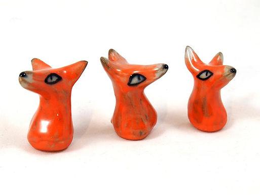 Figurine - Tete Renard