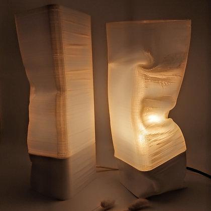Lampe de table Pavé Déformé