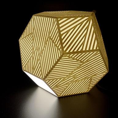 Lampe Octaèdre Tronqué - Petit modèle