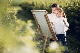 cute-little-kids-painting-park_1157-2347