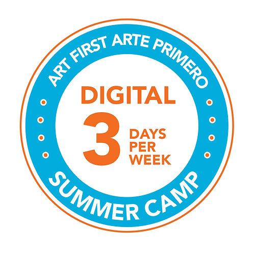Digital Art First – 3 days per week