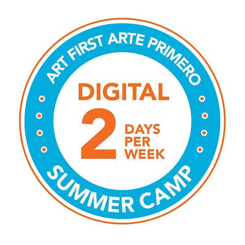 Digital Art First – 2 days per week