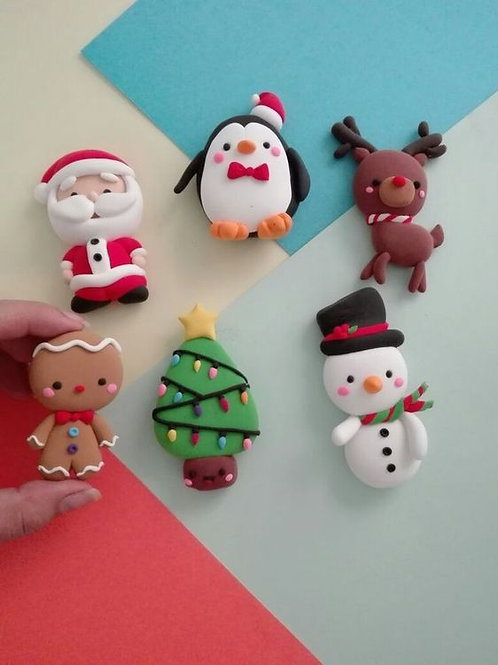 Holiday Miniatures Polymer Clay Art Kit