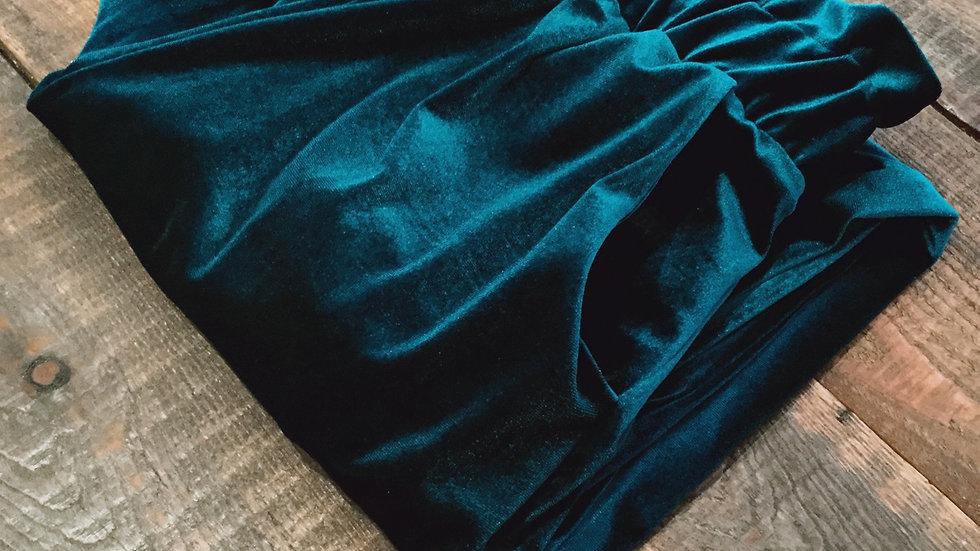 TEAL Velvet loungewear set  - Pre order for Christmas delivery.
