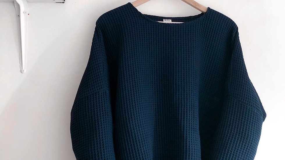 Josie jumper in french navy