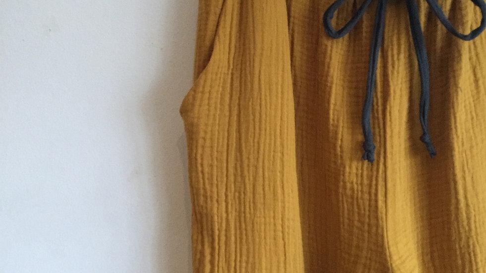 Dijon cotton trouser
