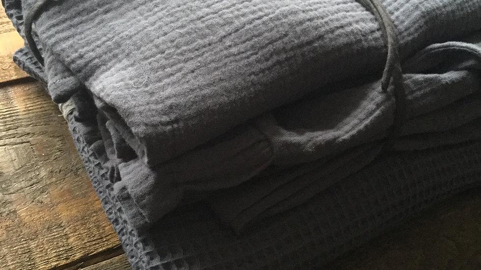 Anthracite cotton lounge set bundle