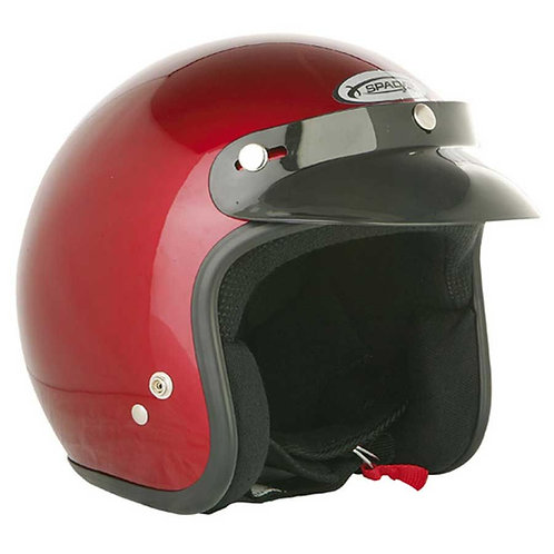 Spada Openface Helmets Candy Red