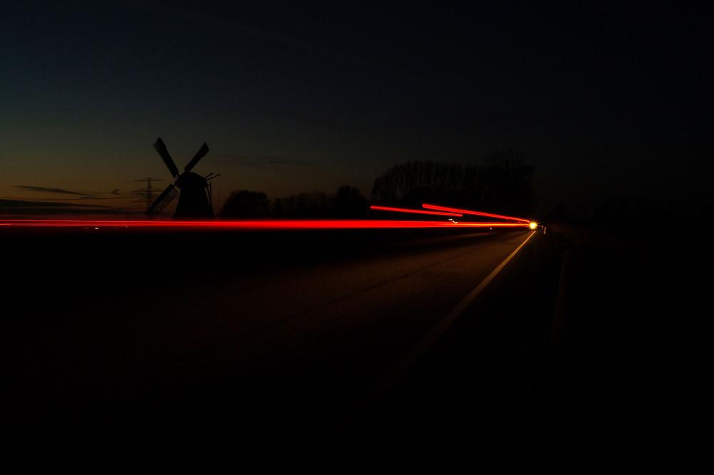 Beleuchtung für Winter Fahrrad Buschmann