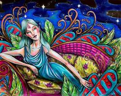 She Lays in a Cosmic Jungle