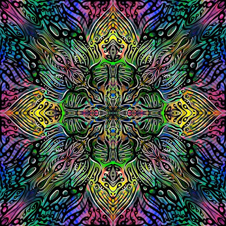 Compassion Codes Mandala