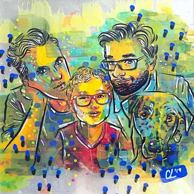 A Vibrant Family