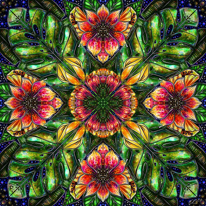 Paradise Earth Mandala