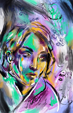 Days Healing, Self Portrait