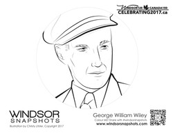 Windsor Snapshots - George William Wiley - Colouring Page