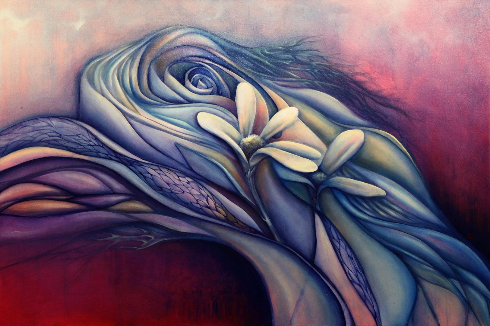 Flowing Efflorescence