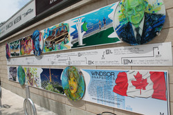 """""""Windsor Snapshots"""" Mural"""
