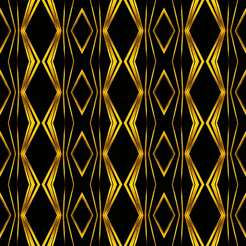 "PHOTOART ""ROUGH RETRO - Strong gold on black"""