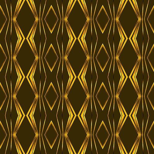 "PHOTOART ""ROUGH RETRO - Gold on green"""