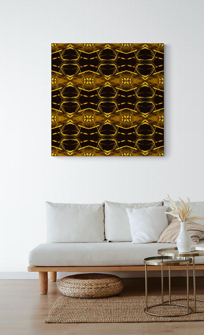 GOLDENLEAVES-Gold on golden