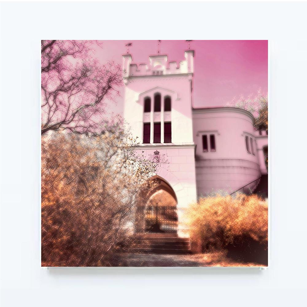 SOFTREALITY-The Castle,100 X 100 cm