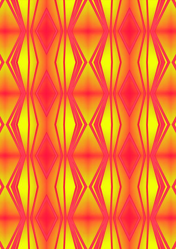 ROUGHRETRO-Neon,100 X 100 cm,til NE