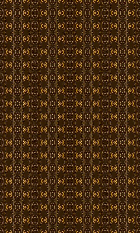 "WALLPAPER ""ROUGH RETRO - Gold on brown"""