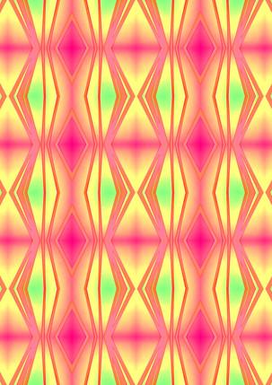 ROUGHRETRO- Pink mix,100 X 100 cm,ti