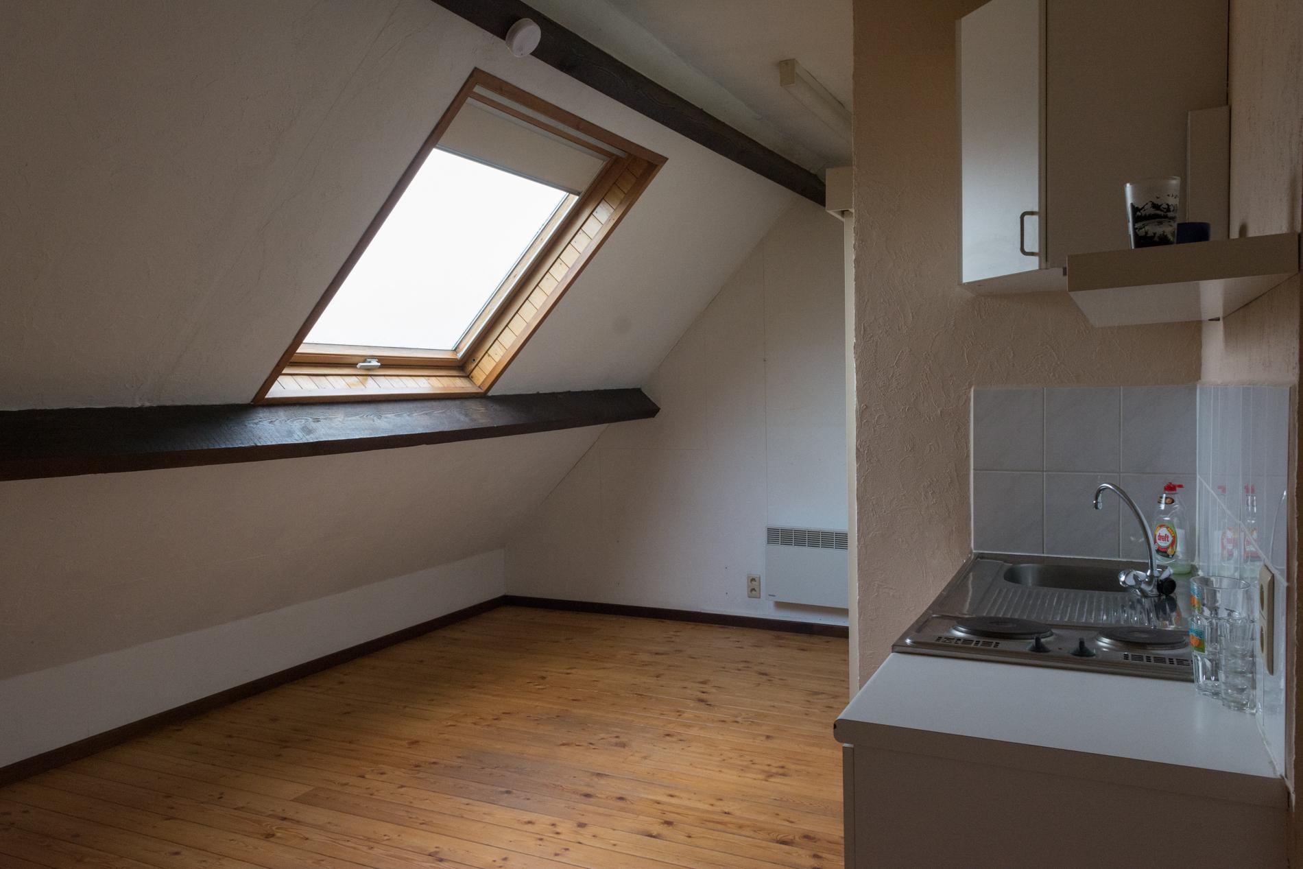 ruime, lichtrijke leefruimte met rec