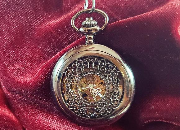 Filigree Mechanical Pocket Watch