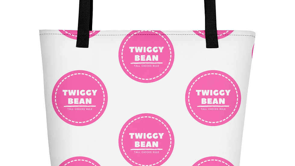 TWIGGYBEAN Signature Large Beach Bag