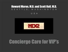 MDx2 Concierge Care for VIP's