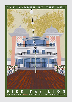 Pier Pavilion Travel Poster