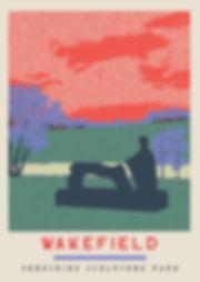 Ellie Way | Yorkshire Sculpture Park | Wakefield Travel Posters