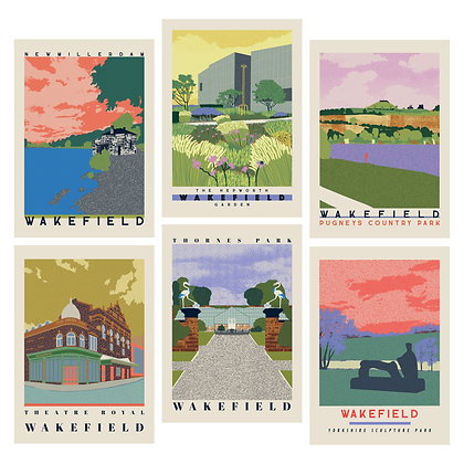First Release Wakefield Travel Posters