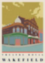 Ellie Way | Theatre Royal | Wakefield Travel Posters