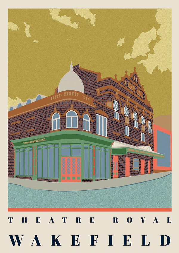 Ellie Way | Theatre Royal | Wakefield Travel Posters